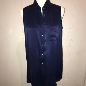 Equipment navy blouse
